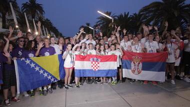 Na Rivi u Splitu spektakularno zatvorene 23. Plazma Sportske igre mladih