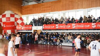 Coca-Cola Cup Zagrebačke županije otvorili smo u Rugvici