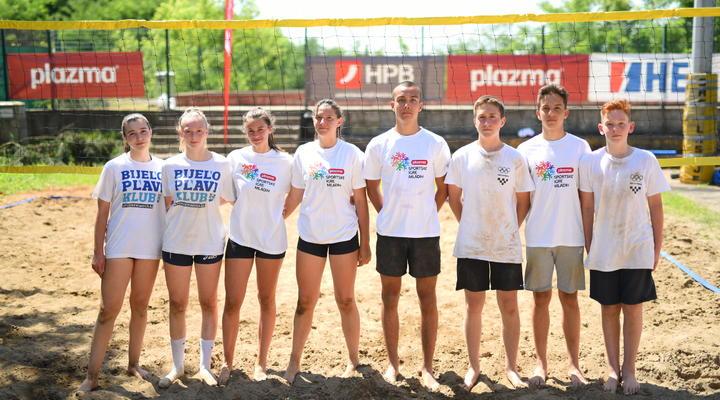Slavonija dobila državne finaliste HPB turnira u odbojci na pijesku