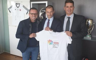 Predsjednik UEFA postaje ambasador Plazma Sportskih igara mladih