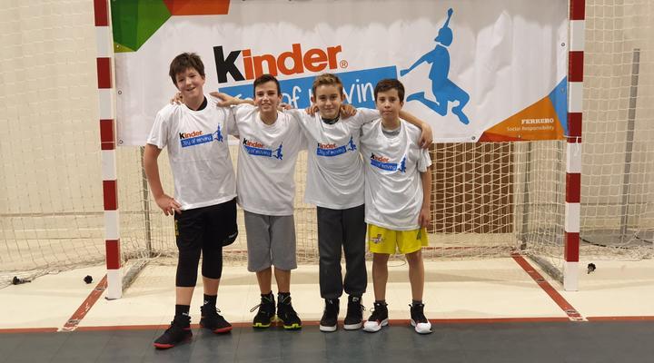 Održan veliki Kinder Joy of Moving turnir u košarci