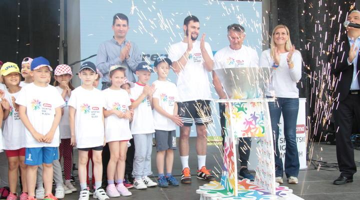 U Ivanić-Gradu svečano otvorene 22. Plazma Sportske igre mladih