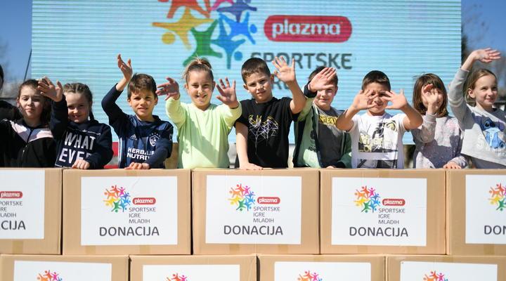 Plazma Sportske igre mladih donirale 50.000 kn SOS Dječjem selu Lekenik