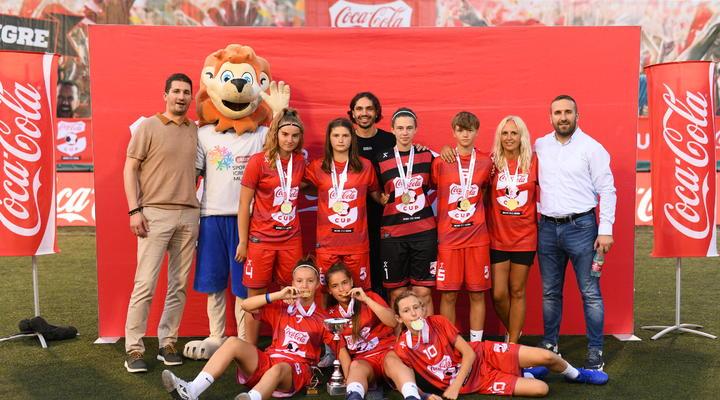 Državni prvaci Coca-Cola Cupa u nogometu