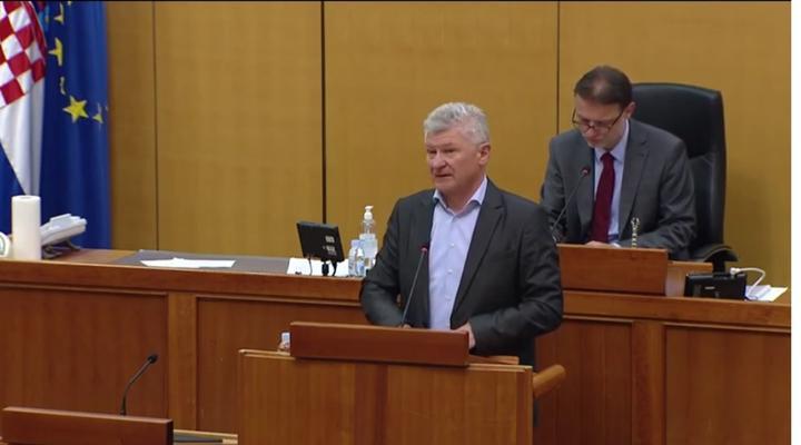 Branko Hrg u obraćanju u Hrvatskom saboru istaknuo Sportske igre mladih