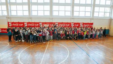 Prvi Coca-Cola Cup turnir Karlovačke županije okupio sve osnovnoškolce iz Vojnića