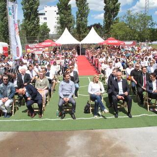Svečano otvorenje Plazma Sportskih igara mladih - Ivanić Grad