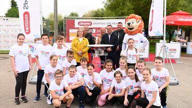 Plamen Turneje radosti razveselio mlade sportaše u Koprivnici