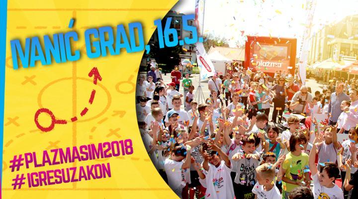 Svečano otvorenje Plazma Sportskih igara mladih ove godine u Ivanić- Gradu